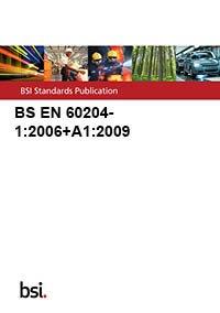 9780580709753: BS EN 60204-1:2006+A1:2009