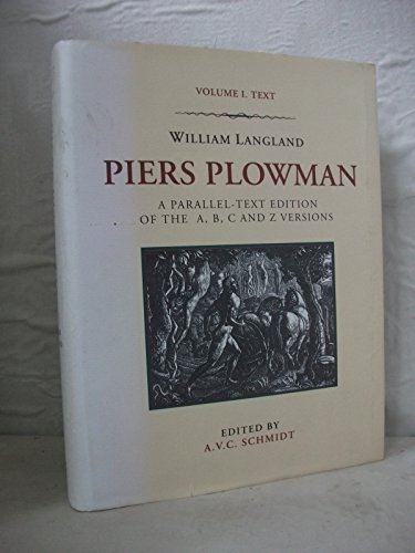 9780582003255: Piers Plowman: A Parallel-Text Edition of the A, B, C and Z Versions : Text (Piers Plowman by William Langland)
