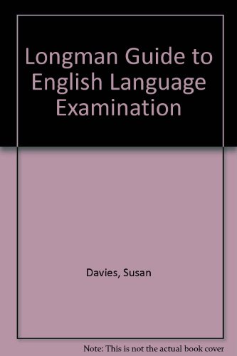 9780582005099: Longman Guide to English Language Examination