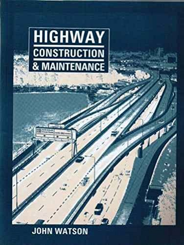 9780582005235: Highway Construction and Maintenance