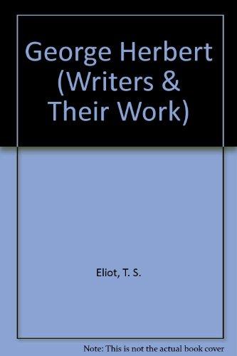 9780582011526: George Herbert (Writers & Their Work)