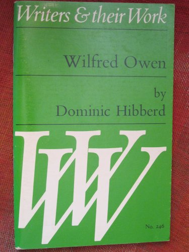 9780582012462: Wilfred Owen (Writers & Their Work)