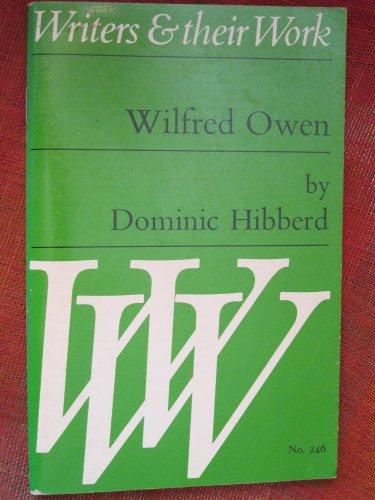 9780582012462: Wilfred Owen (Writers & Their Work)