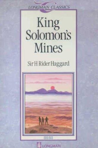 9780582018211: King Solomon's Mines (Longman Classics, Stage 4)