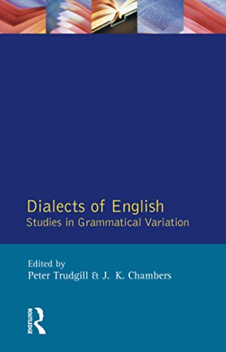 Dialects of English: Studies in Grammatical