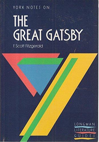 9780582022669: York Notes on F.Scott Fitzgerald's