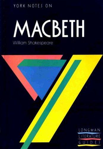 "9780582022805: York Notes on William Shakespeare's ""Macbeth"" (Longman Literature Guides)"