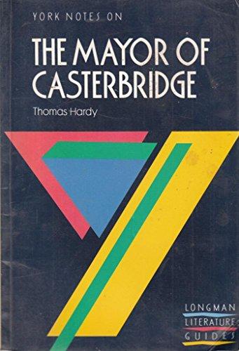 9780582022829: York Notes on Thomas Hardy's