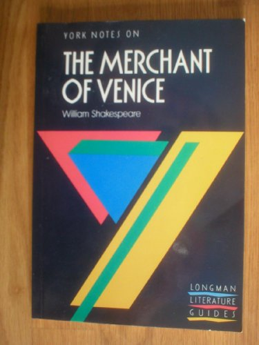 9780582022843: MERCHANT OF VENICE (York Notes)