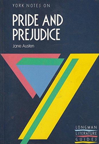 9780582022973: Pride and Prejudice (York Notes)