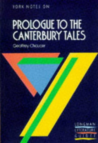 9780582022980: The Prologue to The Canterbury Tales (York Notes)