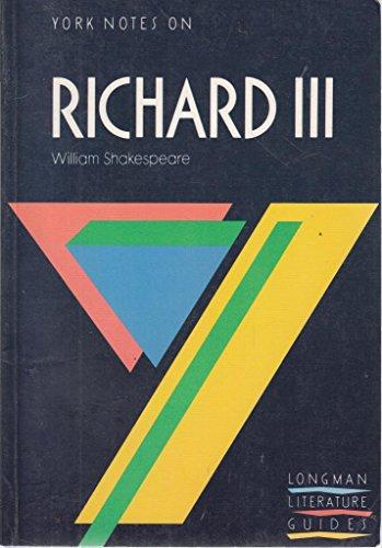 9780582023017: Richard III (York Notes)