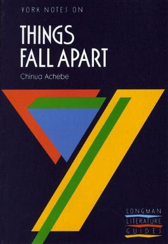 9780582023123: Things Fall Apart: York Notes for GCSE