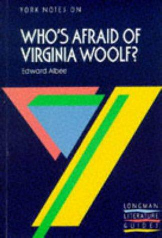 "York Notes on ""Who's Afraid of Virginia: Jeffares, A.N.; Bushrui,"