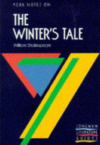 9780582023239: York notes on The Winter`s Tale (York notes)