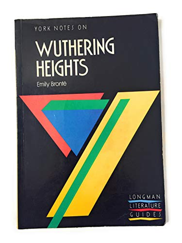 9780582023246: WUTHERING HEIGHTS (York Notes)