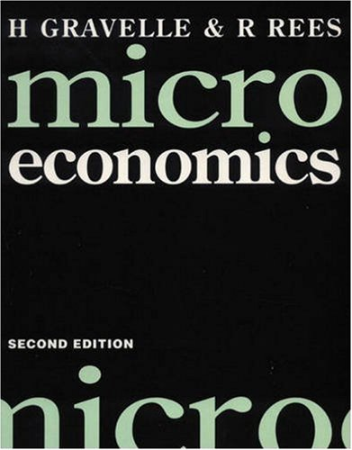 9780582098008 microeconomics solutions manual and workbook rh abebooks com  gravelle and rees microeconomics solutions manual