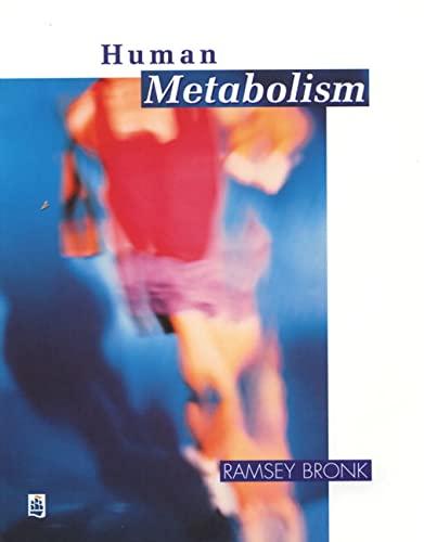 9780582026551: Human Metabolism: Functional Diversity and Integration