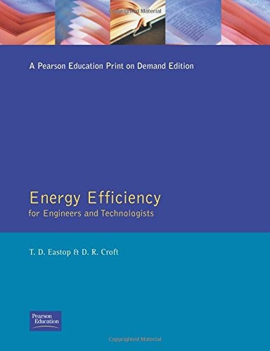 9780582031845: Energy Efficiency: For Engineers and Technologists