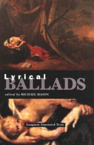9780582033023: Lyrical Ballads (Longman Annotated Texts)