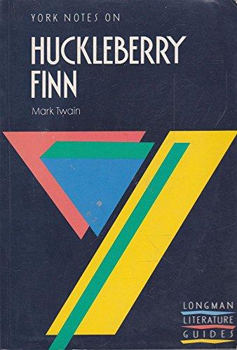 9780582033474: Huckleberry Finn (York Notes)