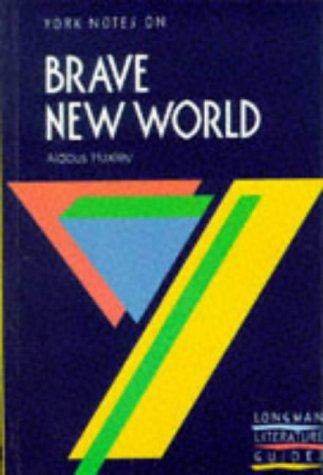 9780582033559: Brave New World (York Notes)