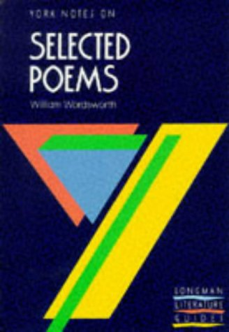 9780582033696: William Wordsworth - Selected Poems (York Notes)