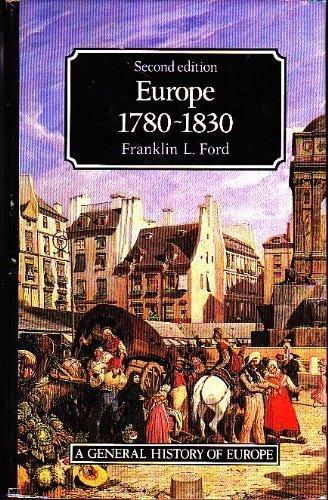 9780582033788: Europe 1780-1830 (General History of Europe)