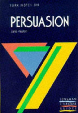 9780582035782: Persuasion (York Notes)