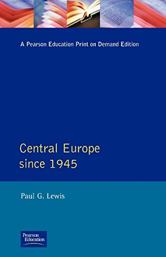 Central Europe Since 1945 (0582036089) by Paul Lewis