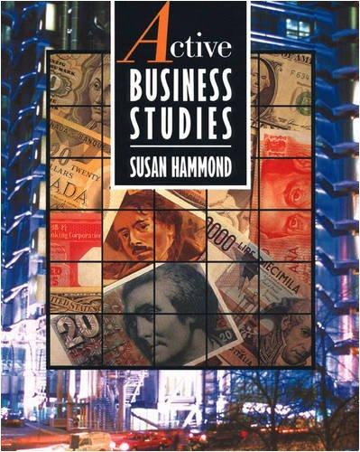 Active Business Studies: Hammond, Susan