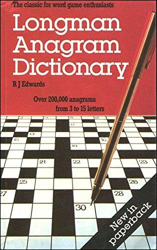 9780582037830: Longman Anagram Dictionary