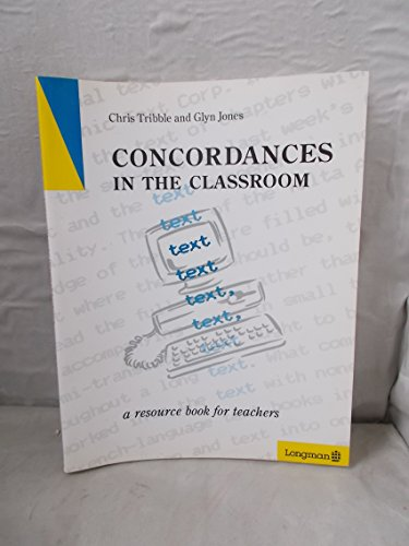 9780582038219: Concordances in the Classroom: Tchrs'