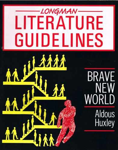 9780582038936: Brave New World (Longman literature guidelines)