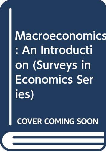 Macroeconomics: An Introduction (Surveys in Economics Series) (0582040132) by Stanlake, G. F.