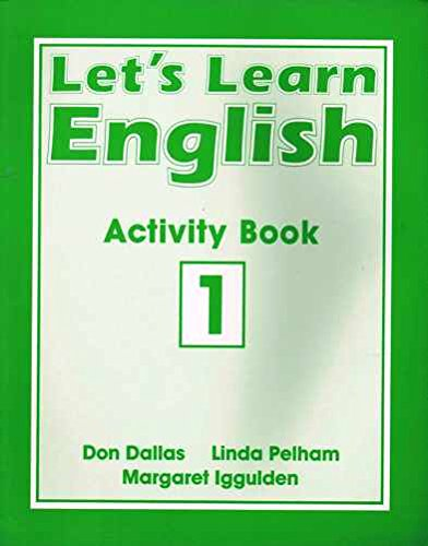 9780582040700: Let's Learn English Activity Book 1 (Bk. 1)