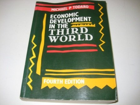 9780582044401: Economic Development in the Third World
