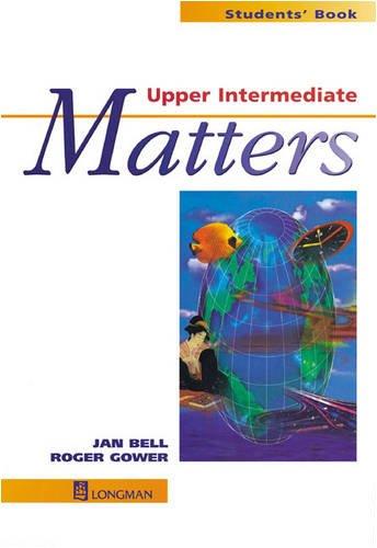 9780582046641: Upper Intermediate Matters Students' Book