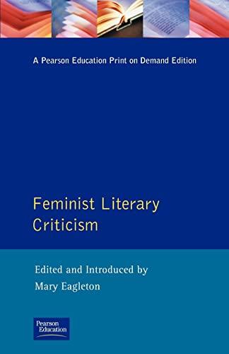 9780582050150: Feminist Literary Criticism (Longman Critical Readers)