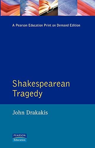 9780582051140: Shakespearean Tragedy