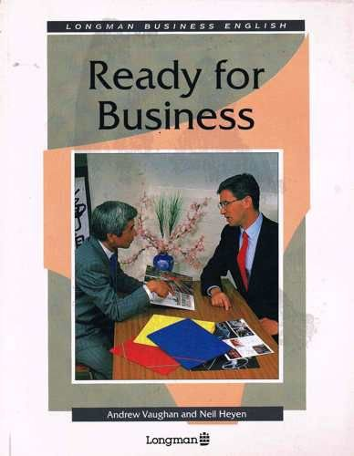 9780582051423: Ready for Business (Functioning in business)