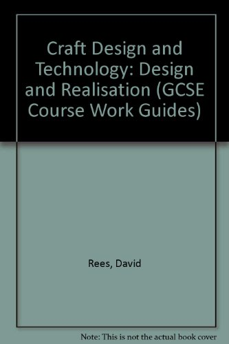 9780582051843 Craft Design And Technology Design And Realisation