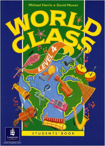 9780582053212: World Class Level 4 Student's Book (World Club)