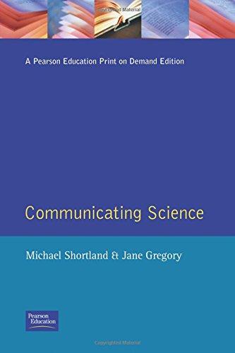 9780582057098: Communicating Science: A Handbook