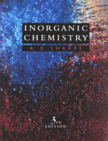 9780582059139: Inorganic Chemistry