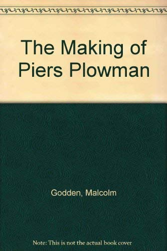 9780582059245: The Making of Piers Plowman