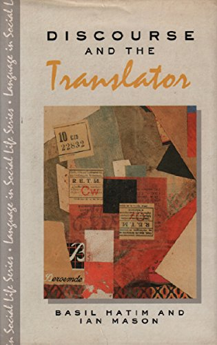 9780582059252: Discourse and the Translator (Language in Social Life)