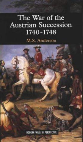 9780582059511: The War of Austrian Succession 1740-1748