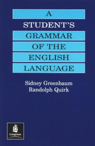 9780582059719: A Student's Grammar of the English Language (Grammar Reference)