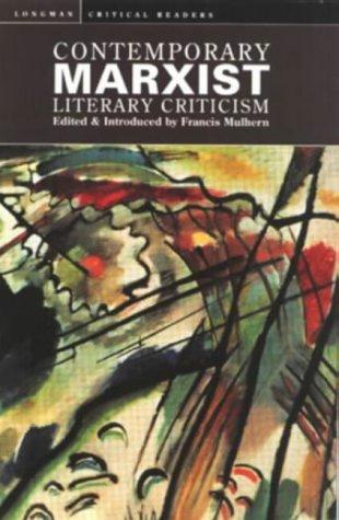 9780582059771: Contemporary Marxist Literary Criticism (Longman Critical Readers)